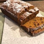 Pumkin Bread Sliced