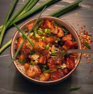 Sticky Chinese Pork Belly | Savorwithjennifer.com