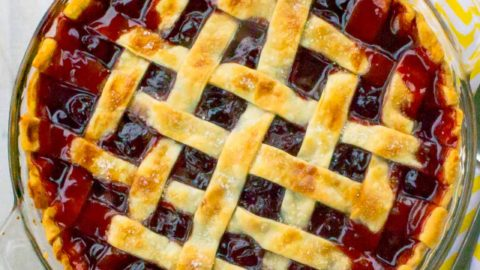 The Best Cherry Pie Recipe with Homemade Filling