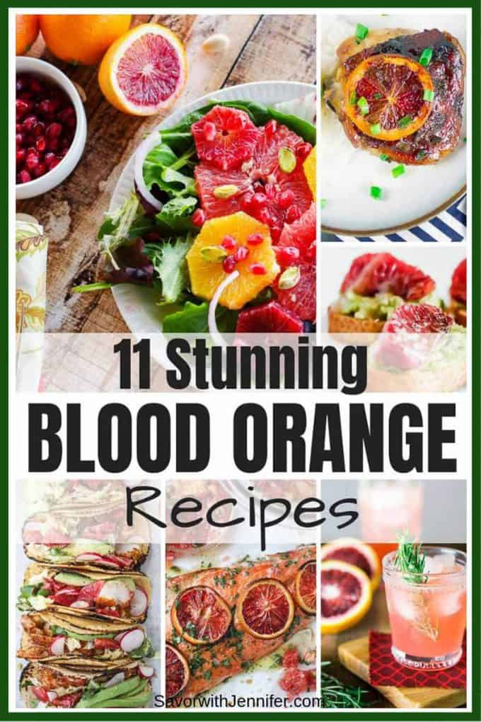 11 Unique Blood Orange Recipes pinterest image