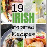 Irish Inspired Recipes Image Collage