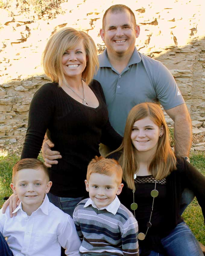 Jennifer Grissom Savor With Jennifer Family Photo
