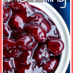 The best cherry pie filling pinterst pin image