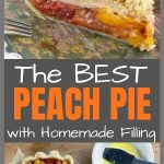 pinterest peach pie image