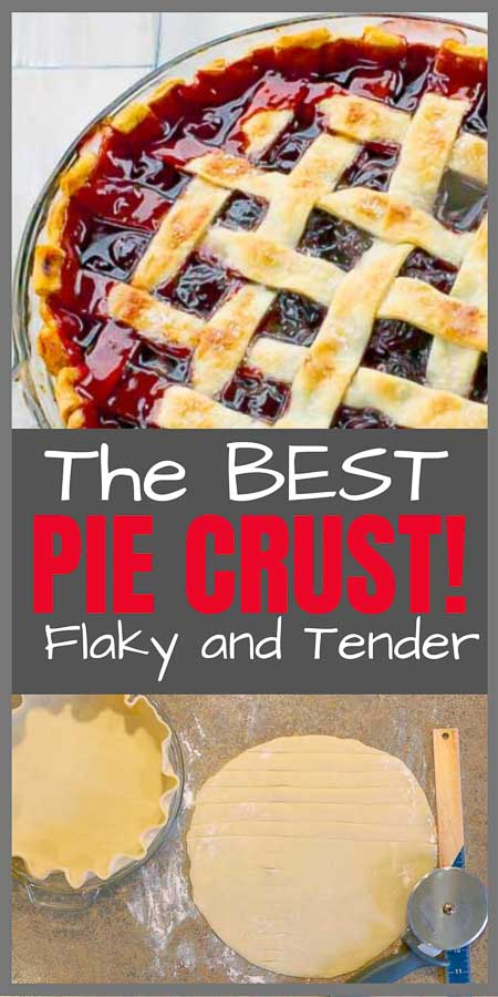 Homemade Flaky Pie Crust Recipe Pinterest Image