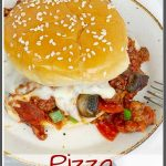 Pizza Sloppy Joe Pinterest Image