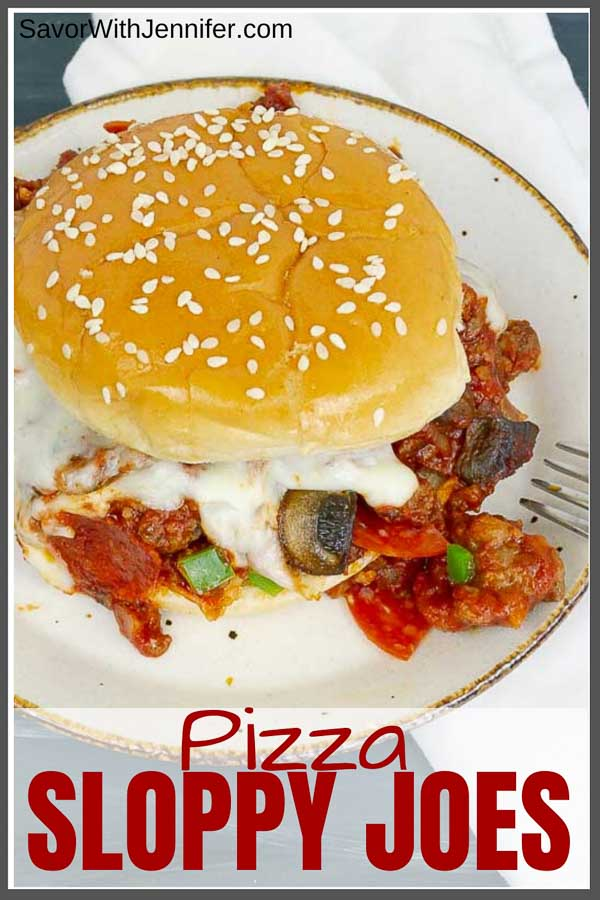 Pizza Sloppy Joe Pinterest Image