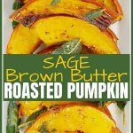 Roasted Pumpkin With Brown Butter and Sage pinterest pin