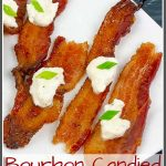 Brown Sugar Bourbon Bacon Bites Pinterest Pin Image
