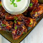 Baked Chipotle Barbecue Wings