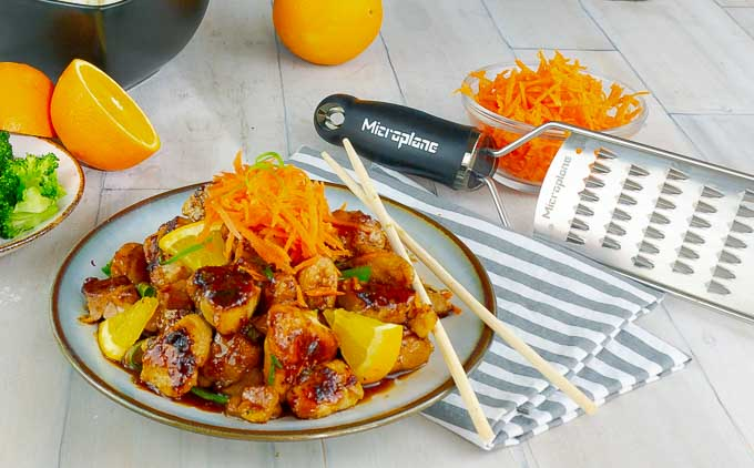 Sticky Orange Chicken Stir Fry