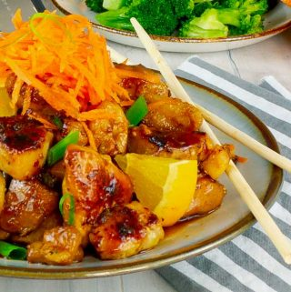 Sticky Orange Chicken Recipe