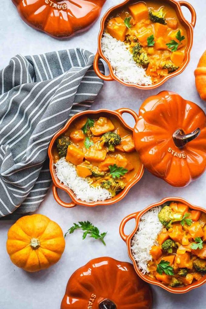 Vegan-pumpkin-curry-sunny kitchen