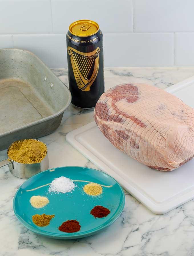 ingrediants for barbecued pulled pork